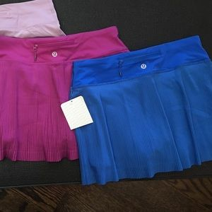 NWT Lululemon Active Skirts Sz 4